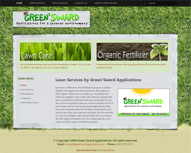 Greensward Applications